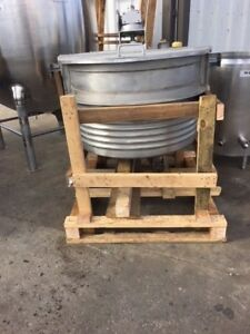 150 Gallon Groen Stainless Jacketed Mixing Tank Kettle Brand New Baldor Motor