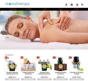 Established Profitable Aromatherapy Turnkey Dropship Website Business For Sale