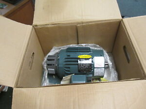 Baldor Variable Speed Ac Motor Dvsnm3584t 1 5hp 1800rpm Fr 145tc Encl tenv