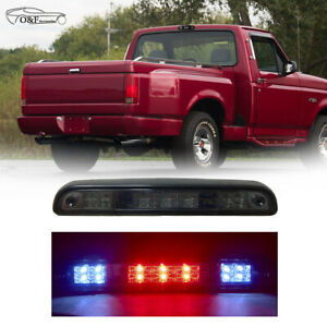 1992 1996 Ford F 150 Ford Bronco Third Brake Tail Light Clear Led Cargo Lamp
