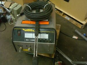 Landa Industrial Pressure Washer Sea 4 2000 200024c 440volt 3 Phase