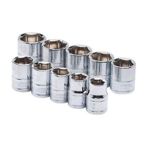 3 8 In Drive Metric Socket Set 10 piece
