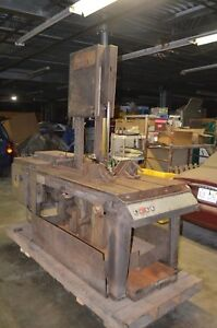 Marvel Series 8 Mark 1 Vertical Band Saw Metal Cutting Model 8 Mark I