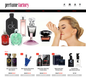 Established Profitable Perfume Store Turnkey Dropship Website Business For Sale