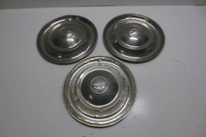 Vintage 1946 1947 1948 Chevy 15 Hubcaps Accessory Hub Caps Wheel Covers 3