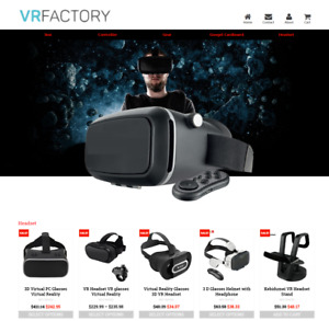 Established Profitable Vr Store Turnkey Dropship Website Business For Sale
