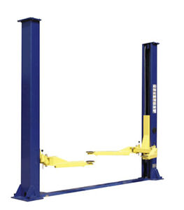 Two Post Lift 9 000 Floor Plate Style Short Ceilings Lowest Price Available New