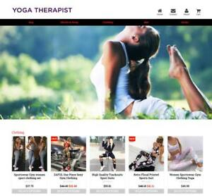 Established Profitable Yoga Store Turnkey Dropship Website Business For Sale