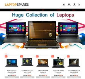 Established Profitable Laptop Store Turnkey Dropship Website Business For Sale