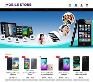 Established Profitable Mobile Store Turnkey Dropship Website Business For Sale