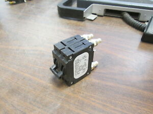Airpax Dc Circuit Breaker Lmlhpk11 1rls4 30406 3 100a 80vdc 2p Used