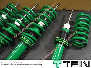 Tein Street Advance Z Adjustable Coilover For 92 95 Civic 93 97 Del Sol