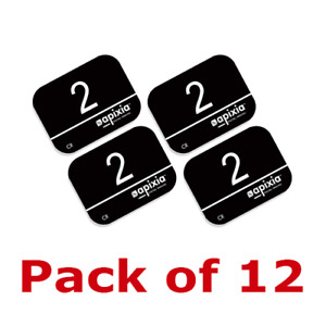 12 Pack Size 2 Scanner Apixia X ray Phosphor Plates