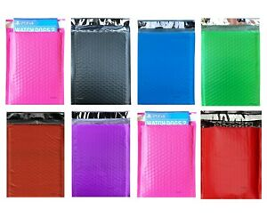 0 6x10 6 5x10 Colors Poly Bubble Mailers Padded Envelopes Shipping Bags X wide