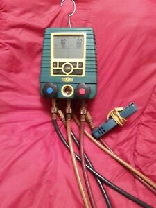 Hvac Refco Digimon Digital Refrigeration Freon Manifold Gauges
