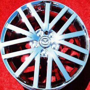 Set Of 4 New Chrome 18 Mazda 6 Mazdaspeed Oem Wheels Rims 3 5 Protege 64889