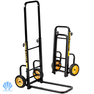 Cart Folding Dolly Push Hand Truck Moving Warehouse Home Load Cap 200 Lbs