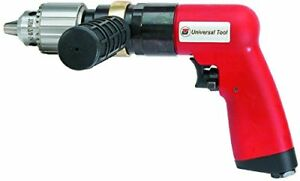 Universal Tool Ut8896r 8 Hp 1 2 Reversible Air Pistol Drill New