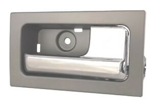Right Chrome Gray Inside Interior Door Handle Fits 09 Thru 14 Ford F150