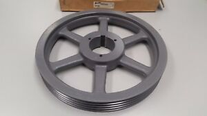 Browning Pulley 4q3v140 Split Taper Sheave 14 Diameter 4 Groove 3v Belt 1060912