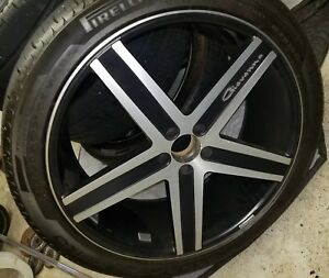 22inch Giovanni Rims With Pirelli Tires