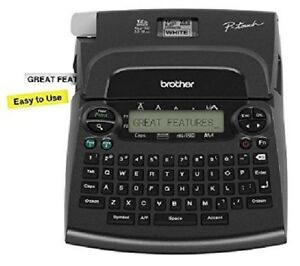 Brother Pt 1890 P touch Deluxe Label Maker Thermal Printer Machine Home Office
