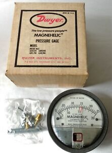 New Dwyer Magnehelic Differential Pressure Gage Series 2000 Model 2000 0 3