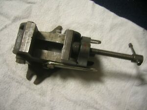 Palmgren Tilting Angle Vise With Swivel Base 000 2 1 2 Wide