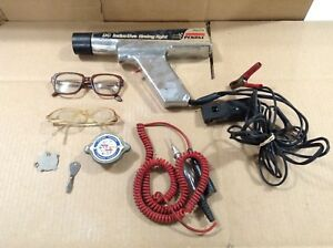Mixed Lot Vintage Items Penske Timing Light Craftsman Coil Tester Sears 4way