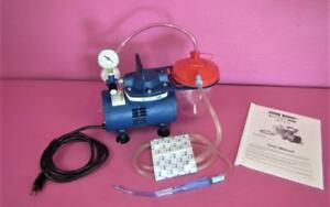 Vacutec 800ev2 Portable Respiratory Aspirator Medical Dental Suction Vacuum Pump