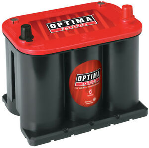 Battery red Top Optima Battery 8020 164