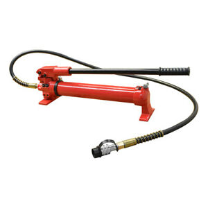 Mh5 Manual 10 000 Psi Air Hydraulic Hand Pump 72 Hose Coupler Included