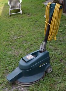 Nobles 20 Ultrashine Floor Burnisher Machine W Dust Control