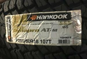 1 New P255 60r18 Dynapro Atm Rf10 Hankook All Season All Terrain