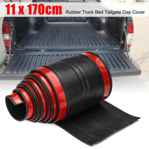 Universal 170cm Rubber Truck Bed Tailgate Gap Cover Filler Seal Shield Lip Usa
