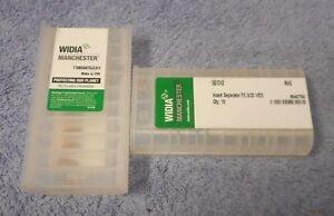 Widia Carbide Inserts 507242 Grade M40 Sealed Pack Of 10