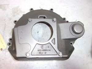 Mg6394 A Ford Fe Late 1950 S Bell Housing Cast Iron With Cover