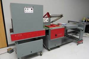 Seal a tron S 2222 L bar Sealer T 1710 Shrink Wrap System Preferred Pak