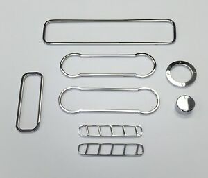 2010 2014 Ford Mustang Chrome Billet 8pc Interior Trim Kit