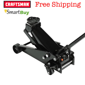 Craftsman 3 Ton Hydraulic Service Jack Lifting Tool Truck Van W Compact Storage