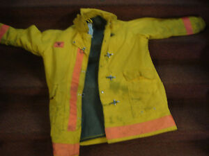 Fire Fighter Fire Gear Turn Out Gear Jacket Chest 50 Length 40 morning Pride