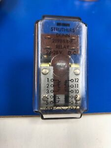 219bbxp 24vdc Struthers dunn Dpdt Dpst no 24vdc 10a Non Latching Power Relay