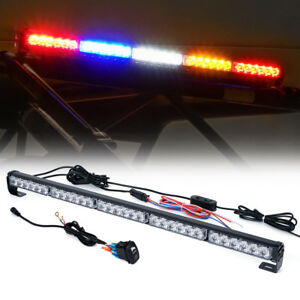 30 Rear Chase Strobe Led Brake Light Bars Rz Series Offroad Utv Atv Buggy Cart
