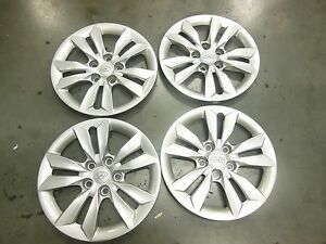 Hyundai Sonata Hubcaps Wheel Covers 11 12 2013 2014 16 Factory Set 4 55565 1