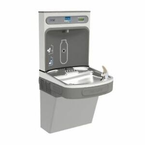 Elkay Ezs8wslk Ezh2o Drinking Fountain And Bottle Filling Station With Cooler