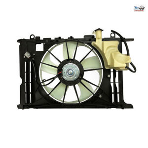 For Toyota Corolla 2014 2016 1 8l Radiator Condenser Cooling Fan To3115181