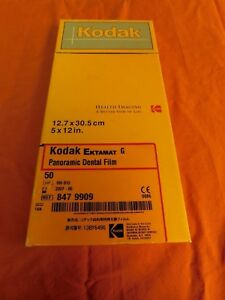 Kodak Ektamat G Panoramic Dental Film Ref 847 9909