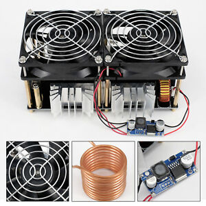 1800w Zvs Induction Heating Board Module Driver Heater With Heat Sink 12 48v 40a