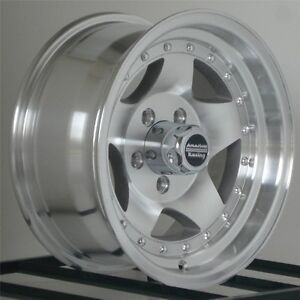 15 Inch Wheels Rims 5x4 5 Jeep Wrangler Ford Ranger Mustang American Racing New