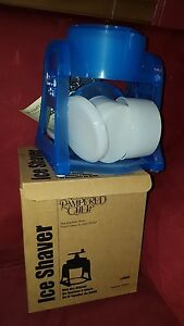 pampered Chef Ice Shaver Shaved Ice Machines New